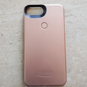 Accessories - Rose gold IPhone Shell case